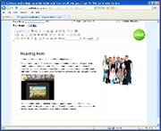 Surefire Video Help - Insert a previously used image into the page