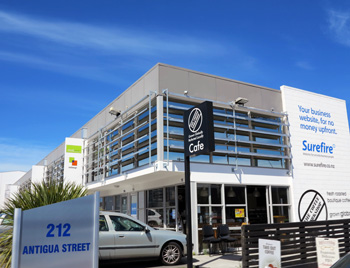 Surefire - Christchurch Office on Antigua Street