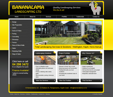 Bananalama Landscaping Ltd