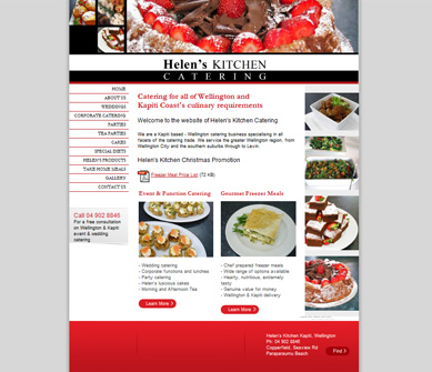 Helen's Kitchen Catering